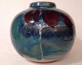 Handmade Ceramic Vase, Handmade, wheel thrown CVLWT
