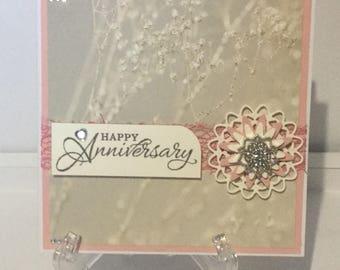 Handmade Anniversary card.
