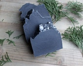SALE - Christmas Coal - handmade soap