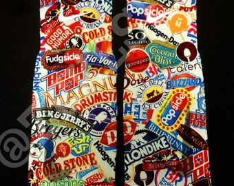 Ice Cream Shop - Custom Nike Elite 2.0 Socks