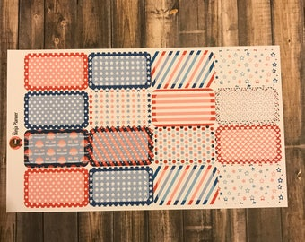 July 4th Collection: Small boxes
