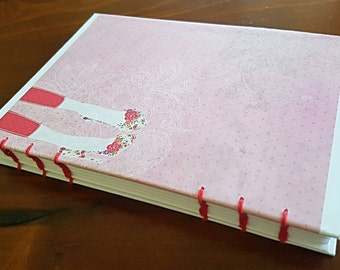 A5 Pastel Pink Cute Diary/Sketchbook