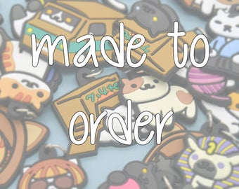 MADE TO ORDER: Custom Neko Atsume inspired decoden whipped cream case for iPhone/Android/etc