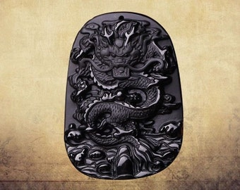 Beautifully Carved Dragon Pendant Super Charged with Dragon Energy