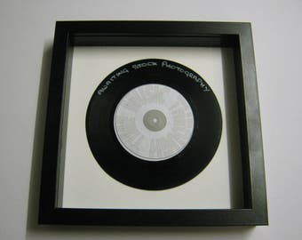 """Derby County Football Club Team """"The Rams Song"""" Framed Record Gift"""