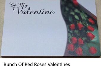Valentine's Theme Florist/Greeting Cards 60mm x 90mm - Florist Supplies