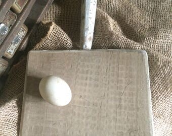 Wooden Breadboard - handmade - a touch of white