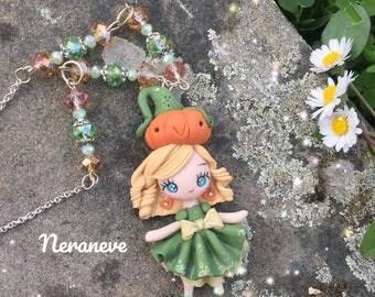 Romantic handmade necklace