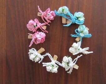 flower clip mini , bloemen knijper mini, kukka mini pincher, mini-pincher floral, Blumen Mini pincher, blommig mini kniptång, 花柄ミニペンチ