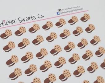 Dessert Cookies Planner Stickers