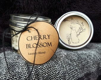 Cherry Blossom Handmade Soy Candle