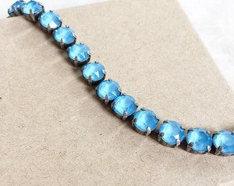 Swarovski Crystal Bracelet in Summer Blue