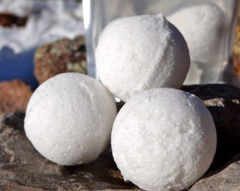 Cold & flu vapor bombs, therapeutic bath bombs for sinus relief, 6  bombs