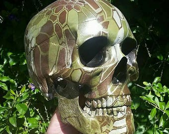 Skull lifesize turtle shell camo