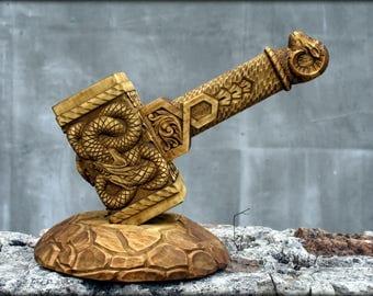 Wooden Mjolnir, Wooden Thors Hammer, Mjolnir, Thors hammer for sale, buy Mjolnir, Thors Hammer