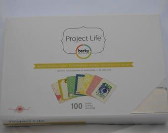 Project Life Maggie Holes Mini Kit