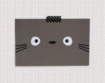 Card GHIBLI - Totoro