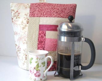 Coffee cosy, French press cosy, Cafetiere warmer, French press cover