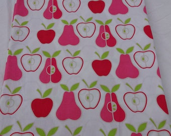 "ALEXANDER HENRY "" Apples and Pears "" Fabric  * Boutique Designer Fabric for quilting, sewing, etc."