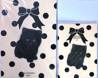 Rare Jetoy Choo Choo Cat Set: A5 and A6 Notebooks