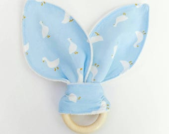 "Teething Soother ring-ring ""Duckies"""