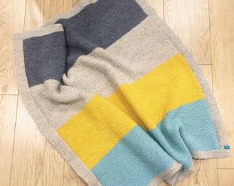 Stripes baby blanket
