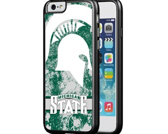 Michigan State Spartans Protective Phone Case for iPhone 5/5s, iPhone 6/6s, & iPhone 6 Plus