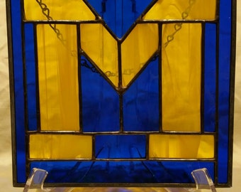 University of Michigan stained glass