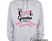 Women's Hoodie - Christmas Gifts For Grandma - This Cool Grandma Belongs To - Cool Grandma Hoodie - Christmas Gifts For Grandma - Christmas