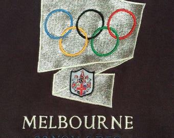 1990s ADIDAS MELBOURNE OLYMPIC Vintage Sweatshirt
