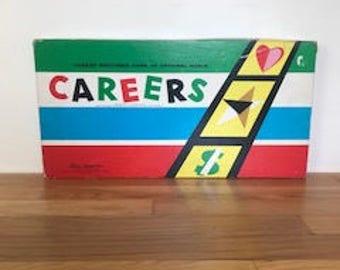 Vintage Careers Game 1958 Parker Brothers