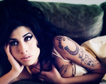Amy Winehouse Temporary Tattoos for Costume