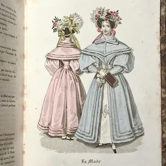 Revue des Modes, 1831. Scarce.