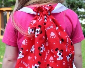 Toddler dog backpack