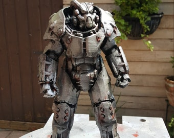 Fallout 4 X01 Power Armor Desktop Display Model 6 & 9 Inch Variations