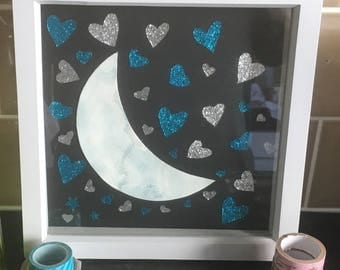 Ms moon papercut