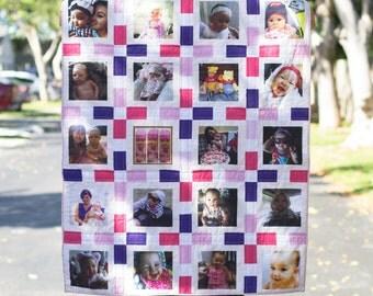 Square Photo Quilt