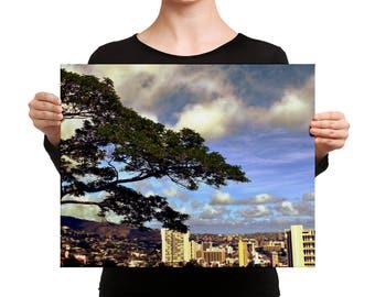 Honolulu Canvas