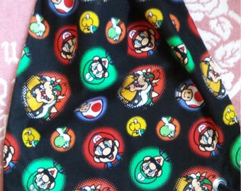 Super Mario Bros Drawstring Backpack