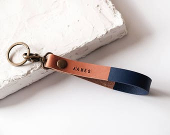 Personalized leather keychains | Etsy AU