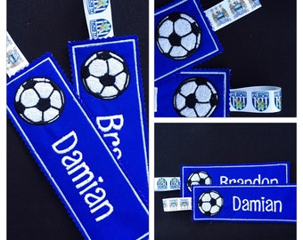 Personalised Football BOOKMARK * Stocking Fillers * Football club bookmark * Football gift * gift for a boy * affordable gifts