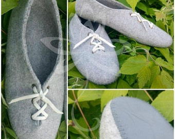 1.  Felted slippers