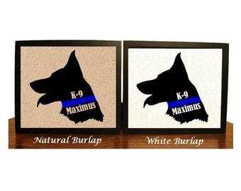 Thin Blue line K9 Police dog, K9 Police officer gifts, K9 Police Dog, Police german Shepard, Thin Blue line dog, Police, Police Officer gift