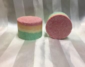Rainbow Sherbet bath bomb