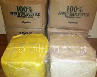 African Shea Butter 10 lbs