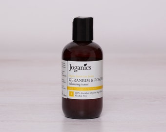 End of winter SALE***Freshly made - Organic Raw Toner - Oil/Combination Skin- Alcohol-free - Vegan