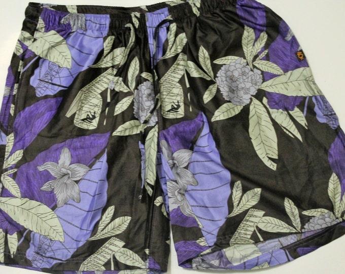 Khushi Shorts - Purple Flower