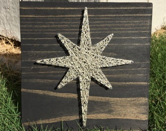 MADE TO ORDER Bethlehem Star String Art Board