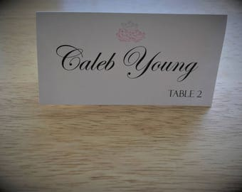 Modern Mint Place Card, The Mint Place Card