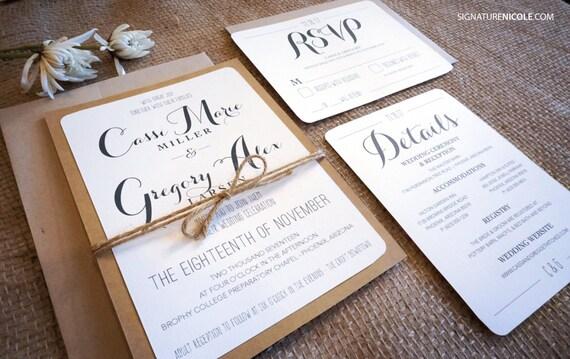 Farm Style Wedding Invitations: 7 Affordable Rustic Wedding Invitations